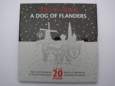 Belgium - 20 Euro 2010 'A dog of Flanders' - silver