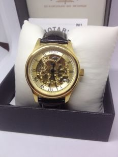 ROTARY MEN'S VINTAGE SKELETON Automatic  WATCH