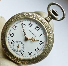 LANGENDORF 10 ruby - men's pocket watch from the 1920s