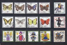 Federal Republic of Germany and Berlin - Lot of 471 semi-postal complete sets