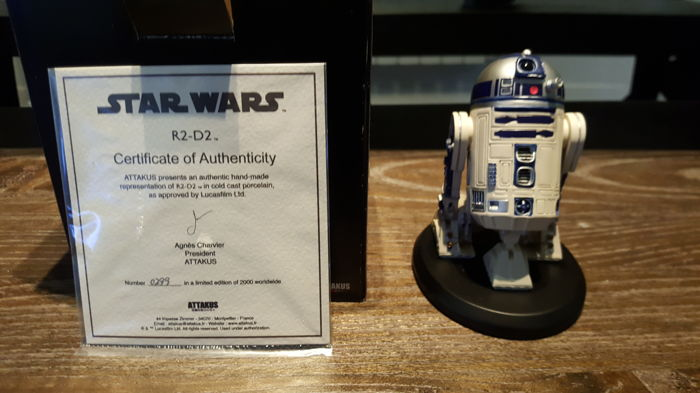 Star Wars - Statue Attakus R2D2 Limited Edition #2 for sale