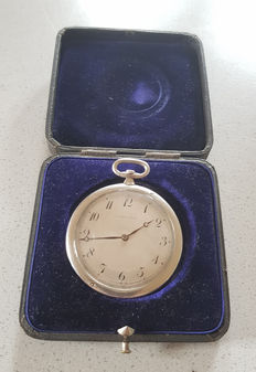 10 Louis Leroy & Cie - Lepine platinum pocket watch - 1910