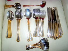 SAVINELLI - Italy - Lot of  67 pieces  - cutlery - two tones