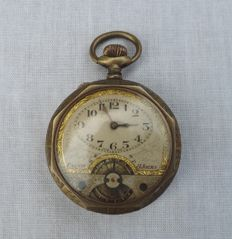 8-day men's pocket watch, 1st half of the 20th century