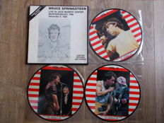 Bruce Springsteen Box 3 LP , Limited Edition 400 Copies , Live In Jack Murphy Center , 9 December 1984 , Unofficial Releases
