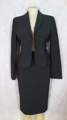 Moschino Cheap and Chic - Women's suit and skirt with sequin insert.