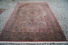 Like new Hand knotted Indo-ghoum 300x200 cm with certifikate