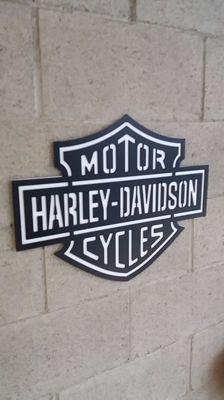 Harley-Davidson large sized panel
