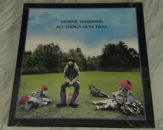 George Harrison - 3LP Box-set All Things Must Pass (EMI 5304741) UK 2001 remastered limited edition with bonus-tracks | 3 LP's