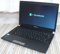 Toshiba Dynabook R732/H Laptop - Core i5 3340M (2.7GHz) - 4GB RAM - 250GB HDD