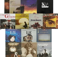 Music Soundtracks Collection of 16 albums in 13 LPs