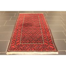 Antique hand-knotted Persian collector's carpet, Belutsch, circa 1930, collector's rug, made in Iran, 180 x 100 cm
