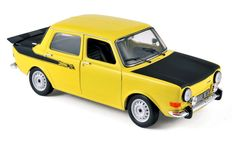 Norev - Scale 1/18 - Simca 1000 Rallye 2 1976 - Maya Yellow