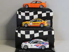 Minichamps - Scale 1/43 - Lot with 3 BMW 320i sports car models