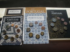 Portugal – 5 x coins series from years: 2006, 2008, 2009, 2010 and 2011.