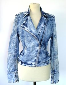 Hugo Boss - super pristine and cool biker's jacket - worn-look, but as good as new - no reserve price