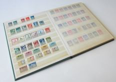 The Netherlands 1913/1976 – Stock book with approx. 600 stamps