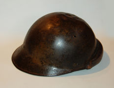 Helmet of French skirmisher 1939 1945