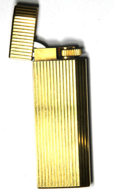 Golden Cartier lighter
