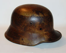 German helmet first war