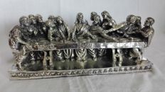 Last Supper - Silver plated