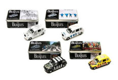 The Beatles Corgi Car 2008 LTI Taxi set Complete, Boxed and Sealed in Presentation Tin ~ Help~Abbey Road~Revolver~Sgt Pepper Limited to 2008 sets