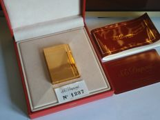 S.T Dupont lighter line 2 GATSBY gold plated - as new