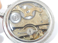 "Antique ROSKOPF "" Cronometro Verdad 1ª pocket watch engraved movement"