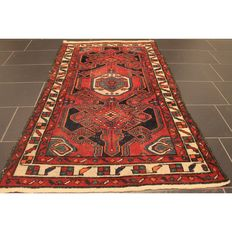 Persian carpet Malayar 170 x 94 cm, made in Iran, old rug, collector's piece, carpet