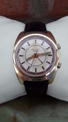"Men's "" Poljot Signal - Alarm "" watch , AU10. USSR-1960's."