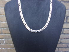 Sterling silver women's necklace, length 50 cm