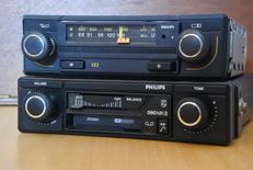 Philips Sprint 22AN593 classic car radio FM - Stereo cassette player 060 MK2 - 1980