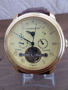 Calvaneo 1583 Evidence Gold G1583 – Men's watch – 2017 – Never worn new condition