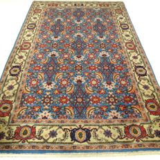 Arat – 213 x 131 cm – Eye-catcher – Oriental carpet, sky blue – In beautiful condition – Please note! No reserve price: starts at €1