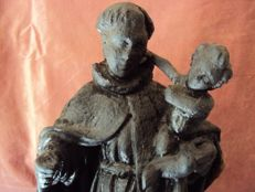 Saint Anthony made of wood