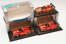 Minichamps - Scale 1/43 - Lot with 3 models: 3 x Ferrari 333 SP