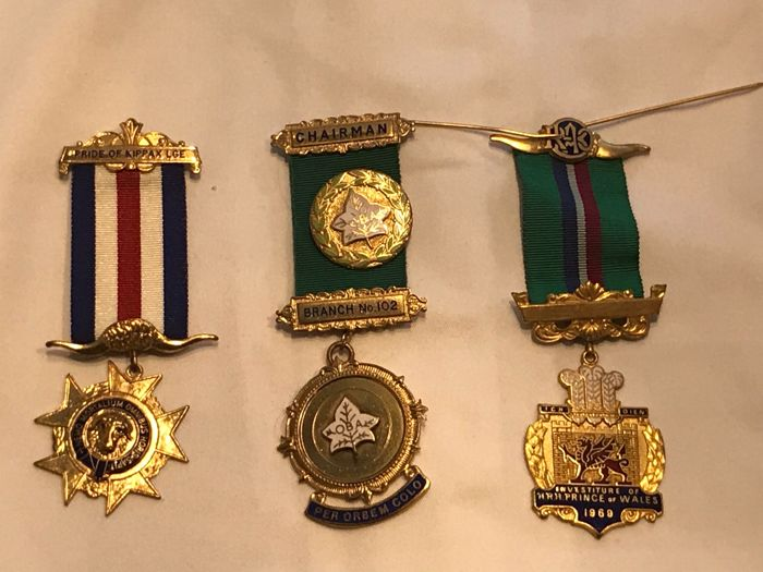 Collection of 3 Masonic medals - Catawiki