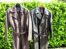 Two leather jackets - Venice and Gelmok - late 1950s
