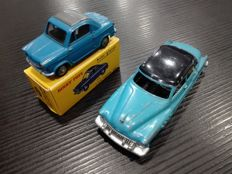 Dinky Toys, France - Scale 1:43 - Vespa 400 2CV, no. 24L & Buick Roadmaster, no. 24V