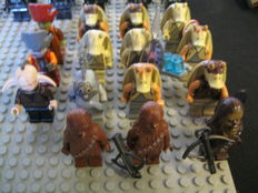 Star Wars - 34 Lego mini figures