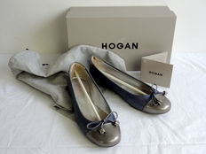Hogan – Lunel Flake – Ballerina pumps – Including dust bag – New in box