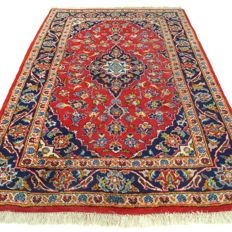 Keshan – 155 x 103 cm – Traditional Persian carpet in beautiful condition – Please note! No reserve price: starts at €1