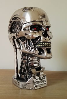 Terminator 2 - Judgement Day - 20th anniversary item - Endoskull - height 21 cm