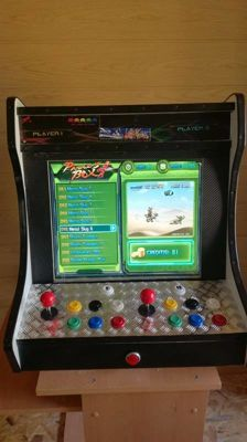RECREATIONAL MACHINE BARTOP with 640 retro games