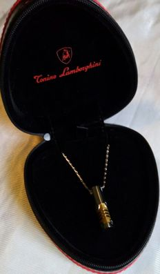TONINO LAMBORGHINI jewel box / man necklace  - 2000