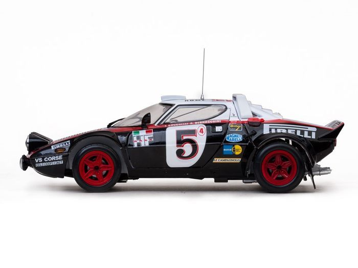 sun star scale 1 18 lancia stratos hf rally 5 rally monte carlo 1978 limited 899 pieces. Black Bedroom Furniture Sets. Home Design Ideas