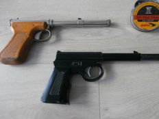 2 x air guns: Diana mod.2 + The Cat