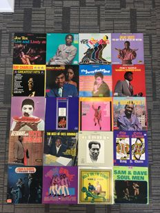 A very nice collection of  Ray Charles - Joe Tex - Fats Domino - Otis Redding - Sam and Dave - Percy Sledge and Ike and Tina Tuner