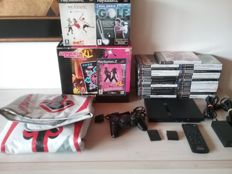 PS2 Console with 27 Games Complete with manuals and Accessories