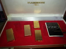 lot 4 lighters Flaminaire in box
